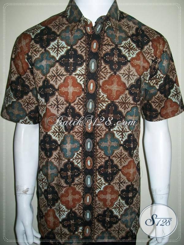 Batik Solo, Kemeja Kantoran Untuk Pegawai Dan Karyawan Sukses [LD770CT-L]