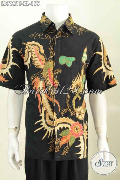 Juragan Baju Batik Terlengkap, Sedia Hem Lengan Pendek Proses Tulis Motif Terkini Hanya 150 Ribuan, Cocok Buat Gaul [LD7821T-XL]