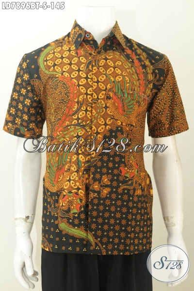 Baju Batik Klasik Kombinasi Tulis Desain Terkini Yang Bikin Lelaki Tampil Gagah Dan Tampan Maksimal [LD7896BT-S]