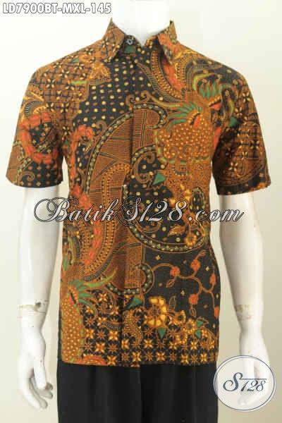 Koleksi Terbaru Busana Batik Pria Baju Batik Halus Lengan