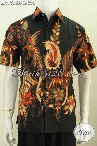 Model Pakaian Batik Pria Terbaru Hem Batik Solo Elegan