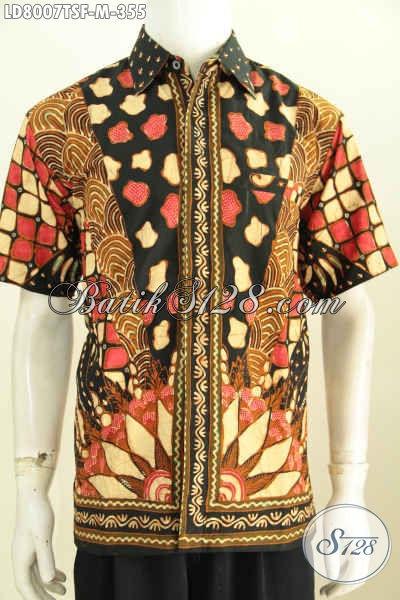 Kemeja Batik Pria Modern 5b1c9efe2b