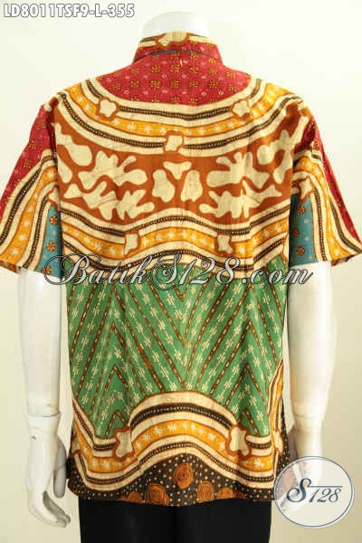 Jual Online Hem Batik Elegan Motif Unik, Produk Baju Batik ...
