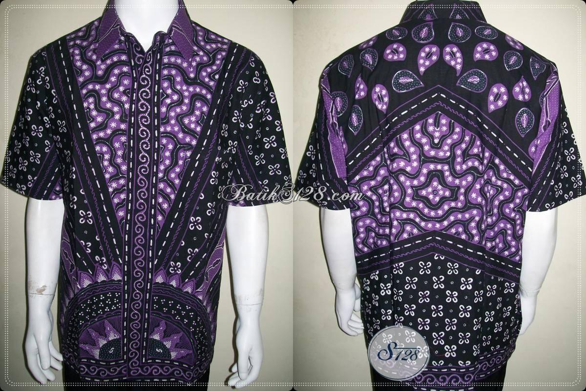 Pakaian Batik Tulis Lebaran Untuk Laki-Laki Ukuran XL