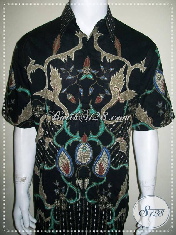 Jual baju batik tulis pria warna hitam hadir dengan trend Jual baju gamis untuk pria