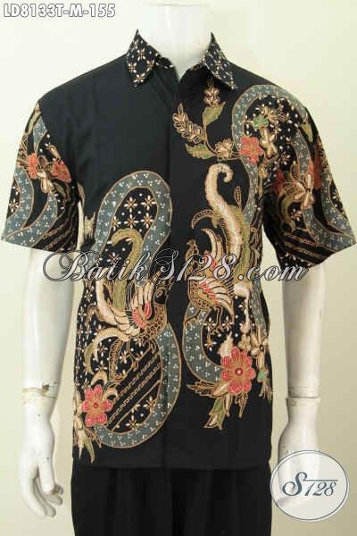 Produk Terbaru Hem Batik Pria Untuk Kerja Dan Santai, Pakaian Batik Berkelas Proses Tulis Hanya 155K Bisa Tampil Tampan Maksimal [LD8133T-M]