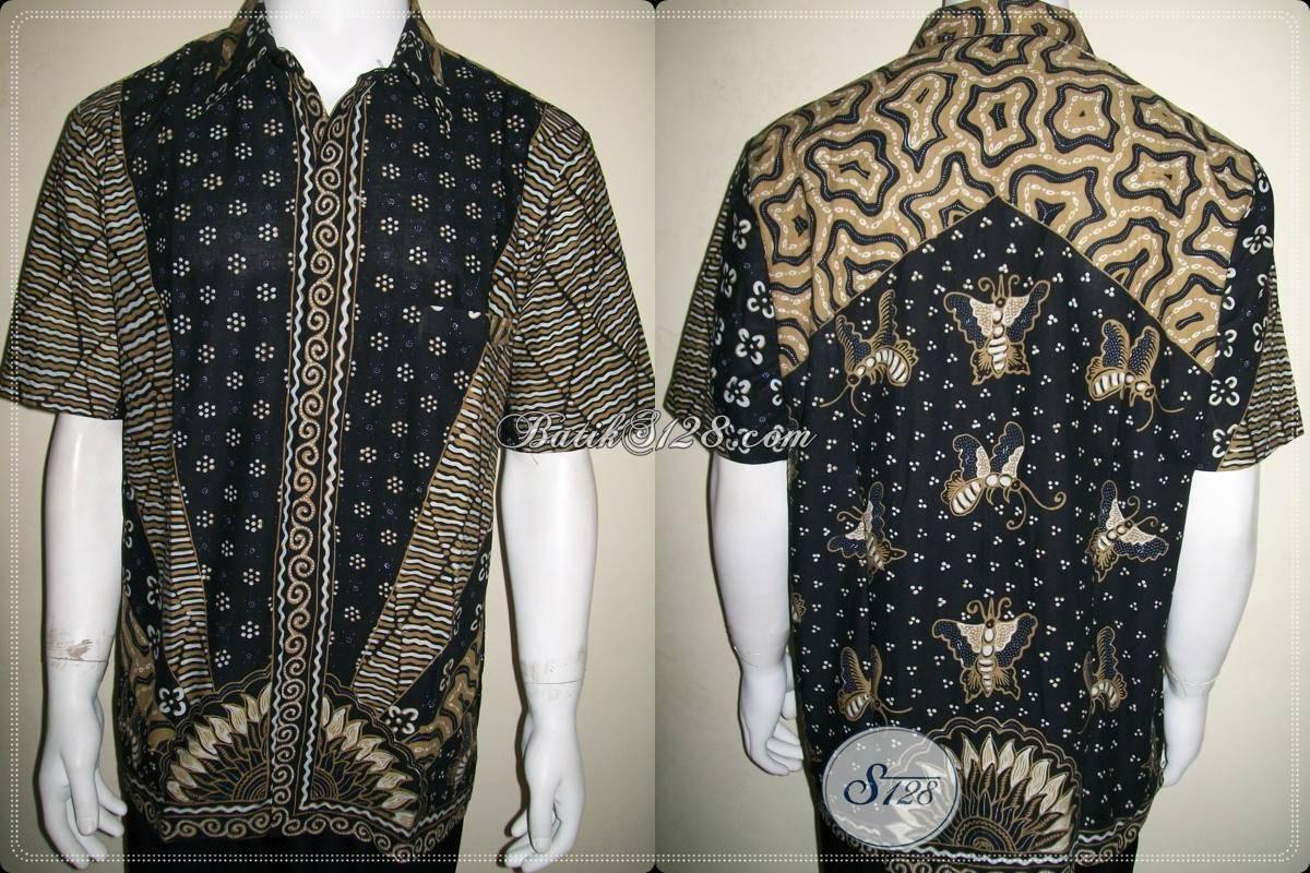 Kemeja Batik Tulis Kerja Kantor Modern Elegan