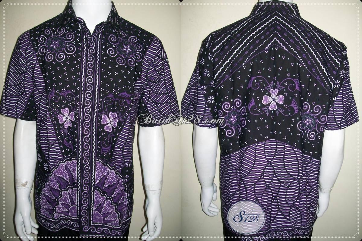 Pakaian Batik Tulis Untuk Pria Dewasa Lengan Pendek