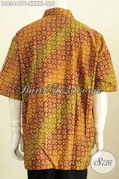 Baju Batik Lengan Pendek Untuk Pria Kemeja Batik Desain