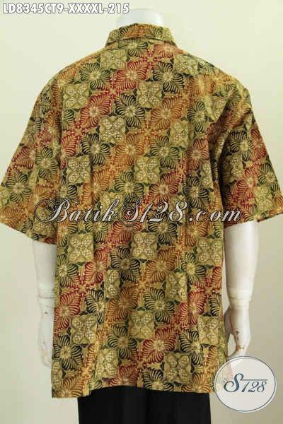 Baju Batik Kombinasi Untuk Pria, Busana Batik Solo Lengan ...