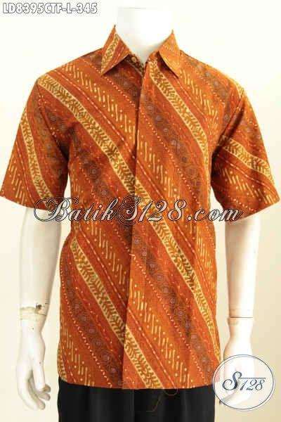 Jual baju batik casual untuk pria kemeja batik elegan Jual baju gamis untuk pria