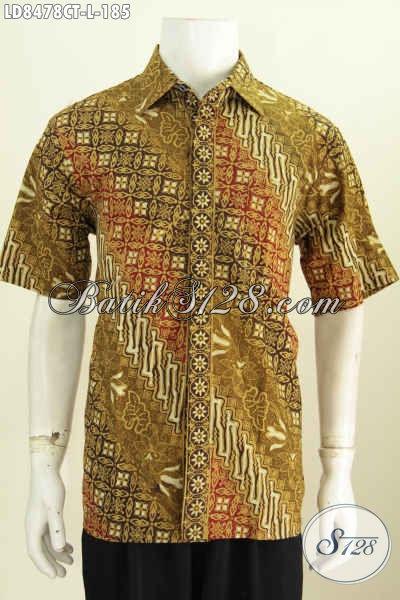 Contoh Model Baju Batik Pria Terbaru Pakaian Batik Modis