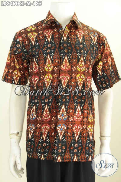 Batik Hem Halus Nan Istimewa, Kemeja Batik Modern Masa Kini Untuk Penampilan Pria Makin Mempesona, Size M