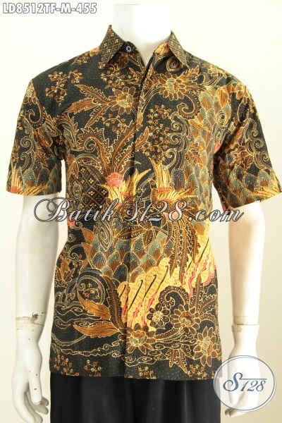 Jual Baju Batik Pria Gaul Hem Batik Tulis Solo Istimewa