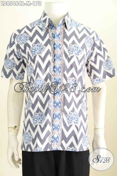 Baju Batik Pria Motif Shape