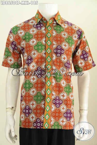Baju batik pria murah