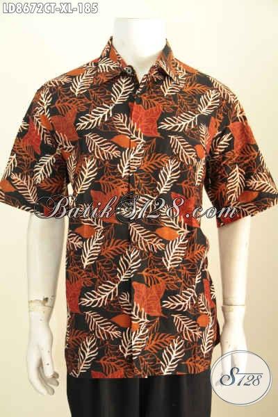Baju Batik Pria Branded Model Lengan Pendek Harga