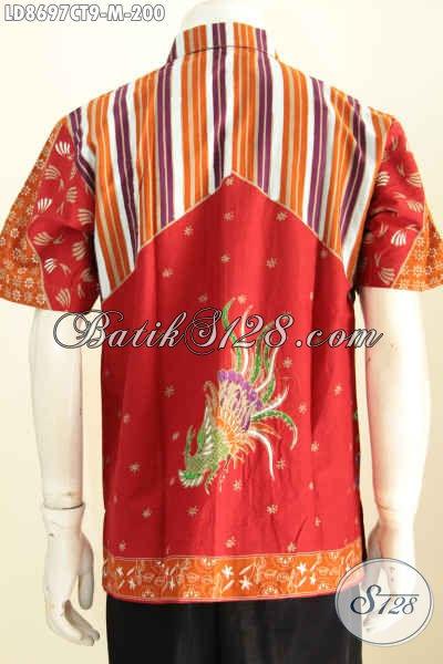 Batik Hem Pria Kwalitas Premium Proses Cap Tulis, Baju Batik Terbaru Pria 2018 Cocok Untuk Kerja Dan Santai Harga 200K [LD8697CT-M]