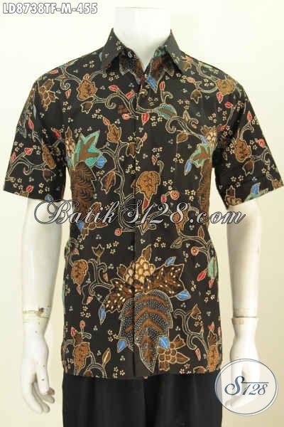 Model Baju Batik Lengan Pendek Terbaru Untuk Pria Dan Wanita