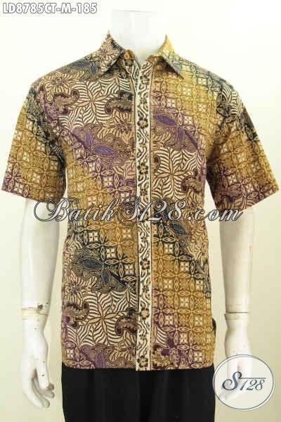 Potongan Baju Batik Pria Terkini Kemeja Batik Halus Motif