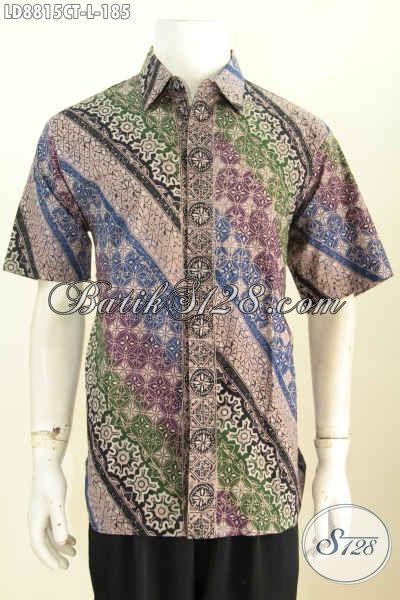 Baju Batik Bahan Halus Motif Klasik Kwalitas Istimewa Pilihan