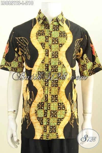 Batik abstrak model batik pria gaul