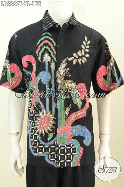 Baju Batik Pria Lengan Pendek Model 2018 Pakaian Batik