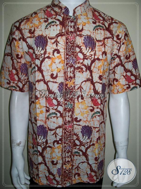 Trend Terbaru Kemeja Batik Koko Lengan Pendek Untuk Pria Muda Tampil Gagah  Dan Tampan 3d57ae92a2