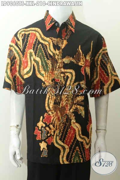Toko Online Batik Lengkap, Jual Hem Batik Halus Buatan Solo Size XXL