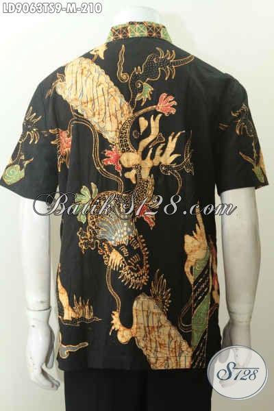 Jual Busana Batik Pria Dewasa, Batik tulis Soga Cocok Untuk Baju Kerja