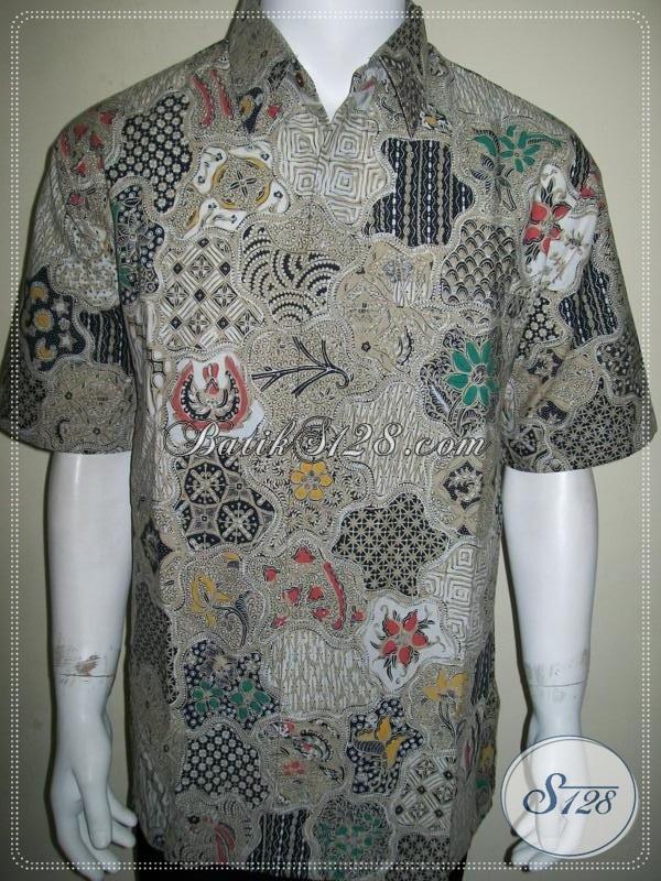 Jual Kemeja Batik Keren, Untuk Bos Muda Dinamis dan Berwibawa [LD918BT-XL]
