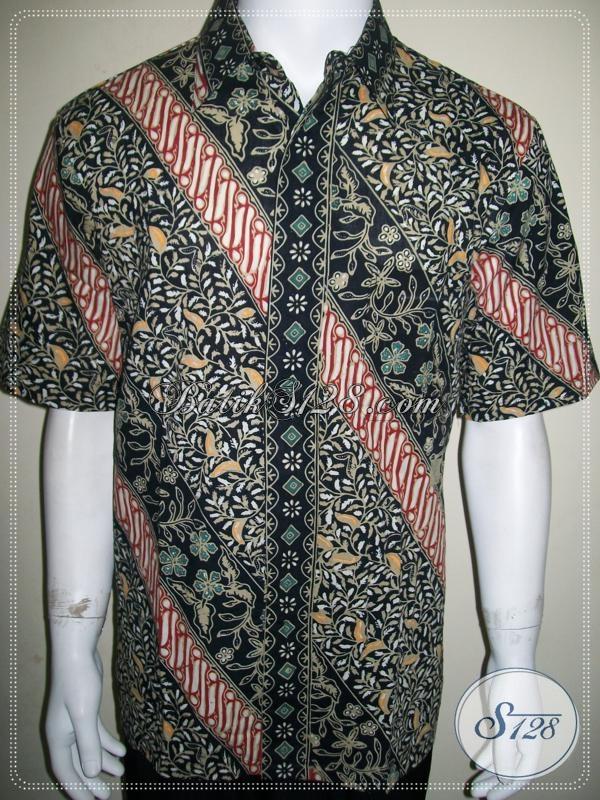 Busana Batik Khas Solo Jawa Tengah Baju Batik Mewah Cocok