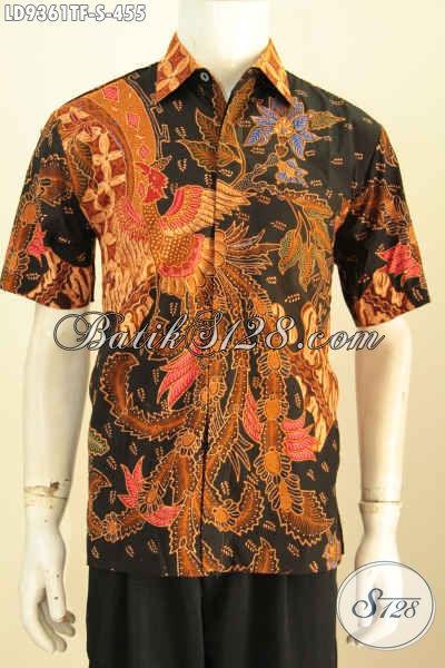 Aneka Pakaian Batik Solo Terbaru, Busana Batik Halus Elegan Lengan Pendek Full Furing Motif Kekinian Proses Tulis 400 Ribuan Saja, Size S