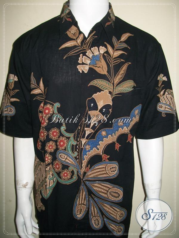 Kemeja Batik Ukuran Besar Untuk Pria Modern Tampil Stylish Dan Elegan [LD937T-XXL]