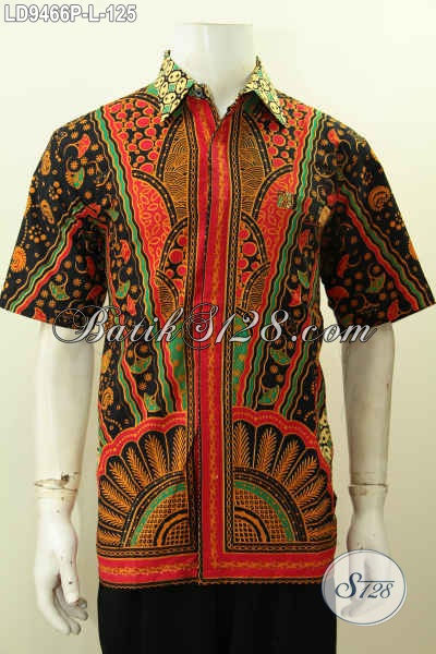 Hem Batik Modis Baju Batik Keren Jawa Tengah Pakaian