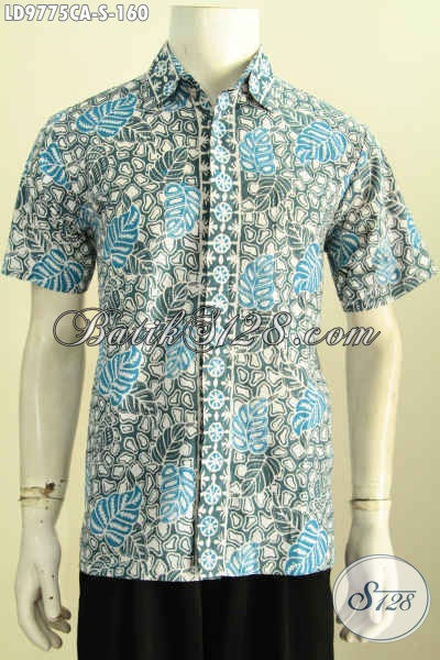 Model Baju Batik Pria Lengan Pendek 2017 Hem Batik Modis