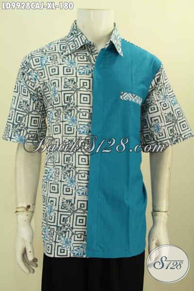 Model Baju Batik Pria Kombinasi Unik Baju Batik