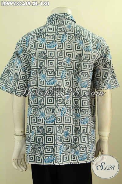 Batik Hem Kwalitas Bagus Harga Terjangkau, Kemeja Batik Pria Terkini Lengan Pendek, Penampilan Lebih Gagah Dan Mempesona, Size XL
