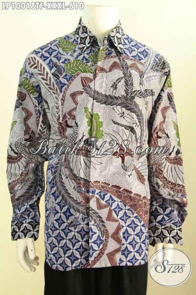 Jual Baju Batik Online 4L, Hem Batik Mewah Full Furing Buatan Solo Motif Klasik Tulis Asli Harga 610K, Istimewa Untuk Acara Resmi
