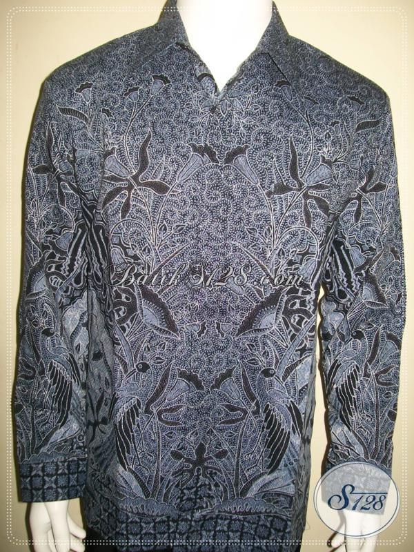 Baju Batik Pria Untuk Kondangan Lengan Panjang Warna