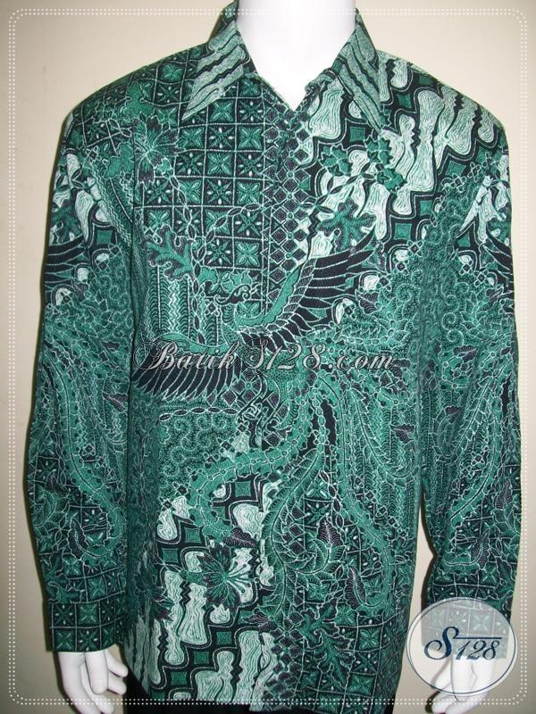 Koleksi Lengkap Aneka Kemeja Batik Kombinasi Tulis Pria