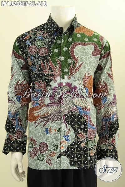 Pakaian Batik Istimewa Yang Membuat Lelaki Dewasa Terlihat Gagah Dan Berwibawa, Hadir Dengan Bahan Premium Full Furing Motif Tulis Asli Hanya 610K, Size XL