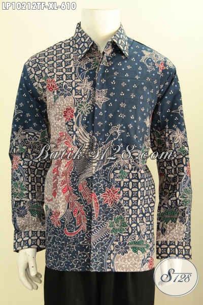 Model Baju Batik Istimewa Yang Bikin Pria Gagah Berwibawa, Pakaian Batik Solo Premium Full Furing Motif Klasik Tulis Tangan Harga 610 Ribu [LP10212TF-XL]