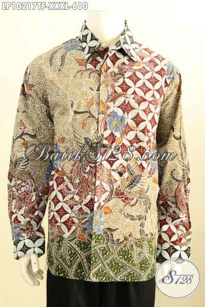 Model Baju Batik Solo Premium Buat Pria Gemuk Sekali
