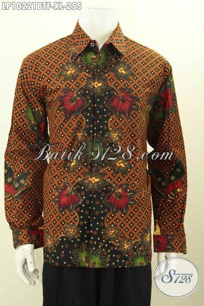 Model Baju Batik Pria Motif Klasik, Pakaian Batik Solo Elegan Full Furing Dengan Lengan Panjang, Cocok Banget Untuk Acara Resmi Harga 255K [LP10221BTF-XL]