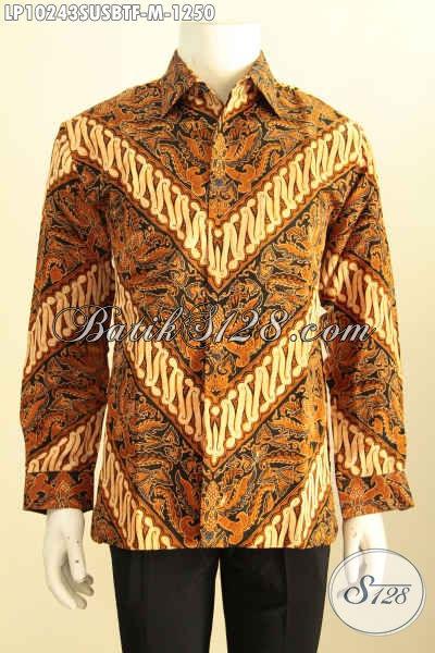 Model Baju Batik Pria Pejabat Kemeja Batik Sutra