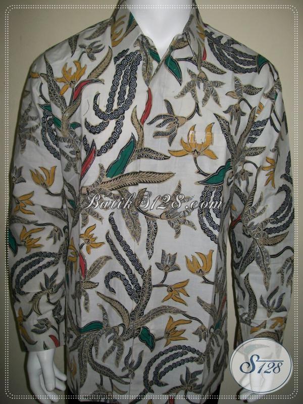 Batik Pria Executive Muda Lengan Panjang, Batik Anak Muda Modern [LP1024BT-XL]