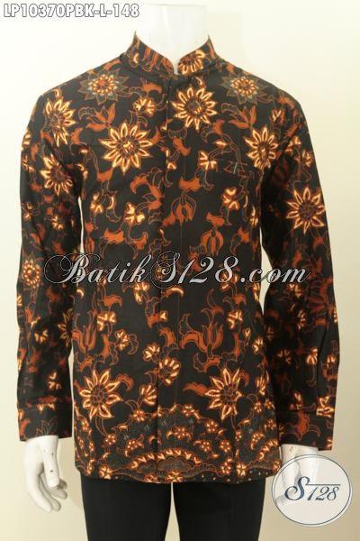 Model Baju Kemeja Batik Pria Ukuran L Hem Batik Solo Jawa