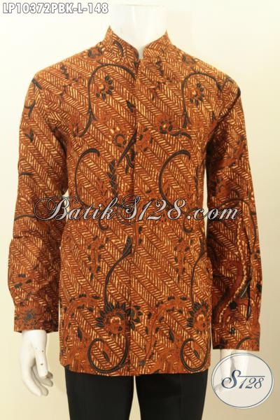 Model Baju Batik Pria Lengan Panjang Terbaru Yang Membuat