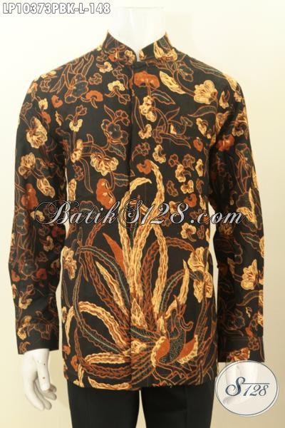 Produk Busana Batik Istimewa Lengan Panjang Kerah Shanghai Kwalitas Bagus Harga 148 Ribu, Cocok Untuk Kondangan, Size L
